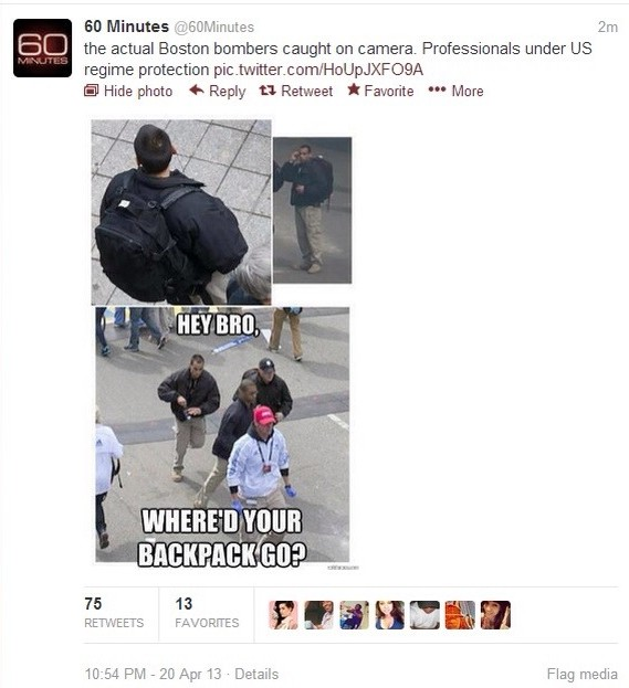 Boston Bombing Conspiracy Theories – The backpack analyses – Odd